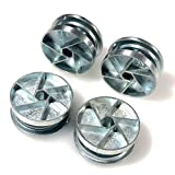 ReplacementScrews Bed Frame Cam Wheel Locks for IKEA Part 114670 (MALM, SONGESAND, BRIMNES) (Pack of 4)