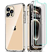 Military Grade Protection: 3in1 [Heavy Duty Shockproof Defender] dual-layer case provides 360 degree full body coverage protection. Premium hybrid hard Polycarbonate (PC) + soft Thermoplastic Polyurethane (TPU/Silicone) + Tempered Glass Screen Protec...