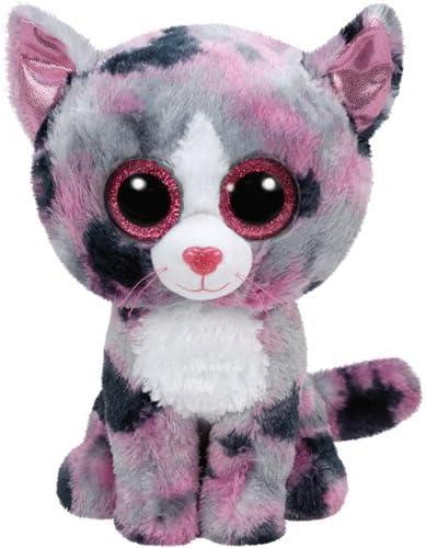 TY Beanie Boo Plush - Lindi the Cat 15cm