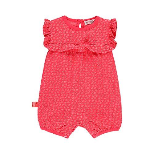 boboli Baby-Strampler für Mädchen, Modell 149150, Rot 3 Monate