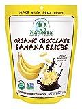 USDA Organic Non-GMO Verified Vegan A customer favorite, freeze-dried Banana is covered with decadent dark chocolate form the Amazon Rainforest.