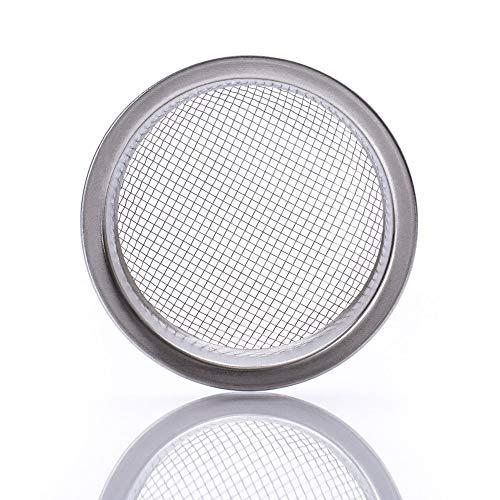 K King'z® Shisha Kopf Sieb [1 STK.] | Shisha Sieb 22 mm | Tabak Sieb Shisha für Tonkopf, Steinkopf und Glaskopf | als Räuchersieb geeignet | Wasserpfeife Zubehör Inclusive eBook