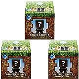 Minecraft Earth Series 19 Mini Figure Mystery Pack (Bundle of 3 Packs)