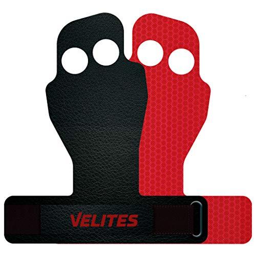 Velites Shell Flexy (L) Calleras para Crossfit, Gimnasio o Entrenamiento, Adultos Unisex, Rojo