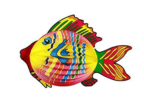 HAAC Lampion Laterne Tropenfisch Fisch 40 cm für Feste Laternenumzug