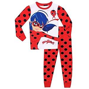 Miraculous Ladybug – Pijama para niñas Ladybug – Ajuste Ceñido
