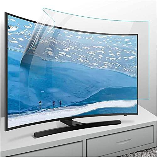 CCHAYE Película Anti deslumbramiento para TV de 32-75 Pulgadas LCD LED Plasma HDTV Anti deslumbramiento AG TV TV Filtro Protector Varios tamaños-32 Pulgadas 698 * 392mm_Versión Mate Improve