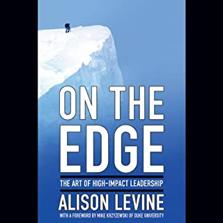 On the Edge audiobook cover art