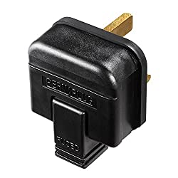 HEAVY DUTY, INDUSTRIAL QUALITY REWIREABLE PLUG: From Masterplug, for you to easily wire to cables for home, office and garden use MADE TO THE HIGHEST STANDARD: The 13 Amp plug measures 57.5 x 48 x 46.7 mm and is ideal for heavy duty power application...