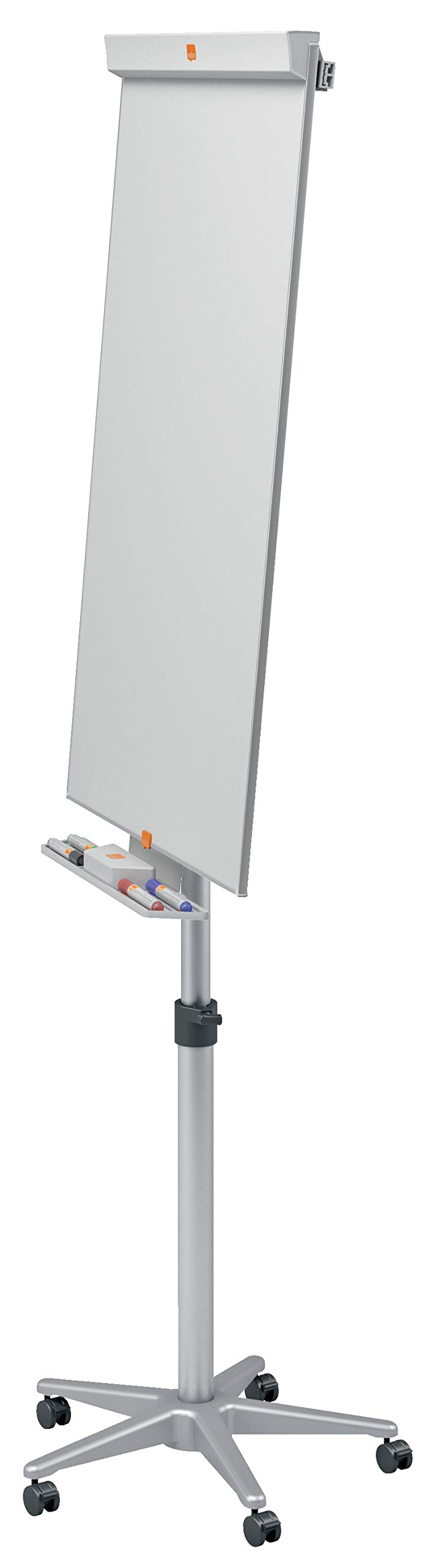 Nobo 657494 Barracuda Mobile Easel Whiteboard Flipchart With Magnetic And Height Adjustable 1000 X 700 Mm White Buy Online At Best Price In Uae Amazon Ae