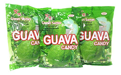 3 Pack of Classic Series Guava Candy 350g, 130 Pieces
