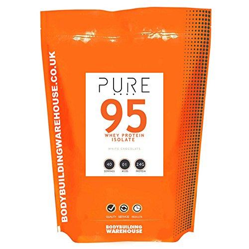 Bodybuilding Warehouse Pura Proteine Del Siero Isolate 95-1Kg