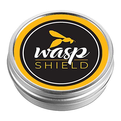 Scudo per vespe, compatto, 100% organico, repellente per vespe, non contiene deet, non richiede contatto con la pelle, alternativa agli spray e trappole per vespe, per uso interno ed esterno.