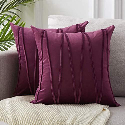 Funda de cojín decorativa a rayas para sofá o hogar