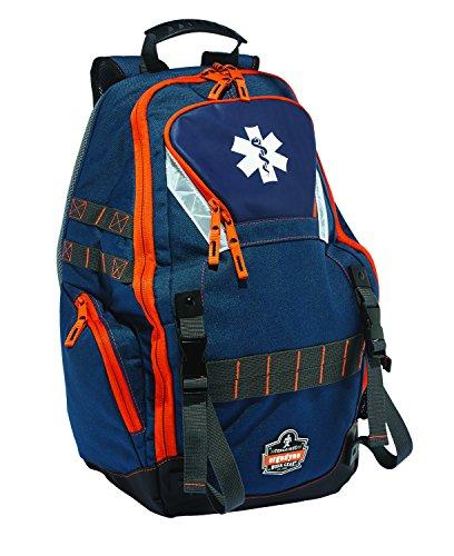 Ergodyne Arsenal 5244 Medic First Responder Trauma Backpack Jump Bag for EMS, Police, Firefighters, Blue