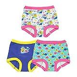 Baby Shark Baby Potty Training Pant Multipacks, Shark Pink 3pk, 3T