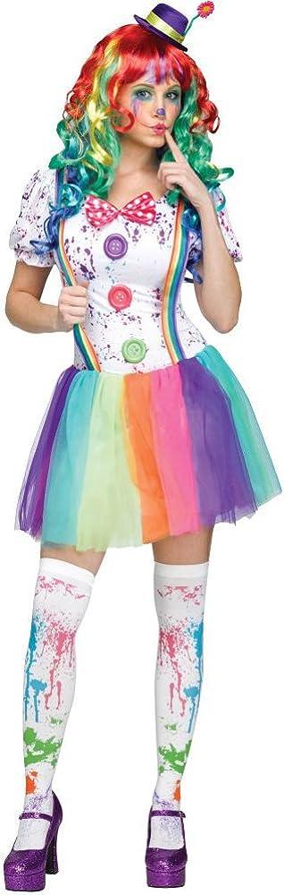 Ladies Cutie Clown Costume