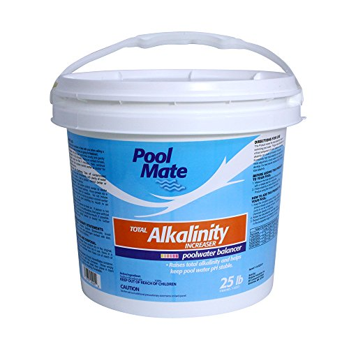 Pool Mate 1-2257 Total Alkalinity Increaser for Swimming Pools, 25-Pound