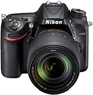 Nikon D7200-24.4 MP, SLR Camera, Black, 18-140mm Lens Kit