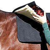 Professionals Choice 30X30 Equine Saddle Pad Liner (Black)