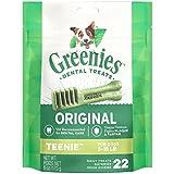 Greenies Treats for Dogs (5-15 lbs/2-7 kg)Mini Treat-Pak-Teenie 6 oz