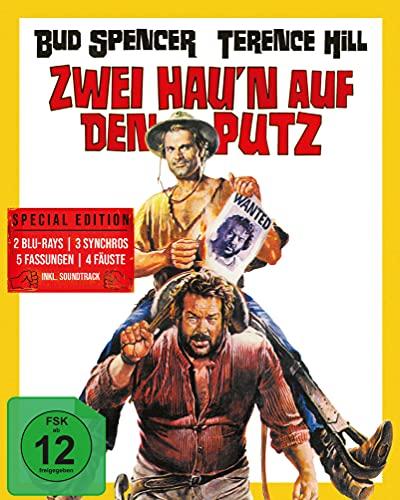 Hügel der blutigen Stiefel/Zwei hau'n auf den Putz (Mediabook A) (+ CD) [Blu-ray]
