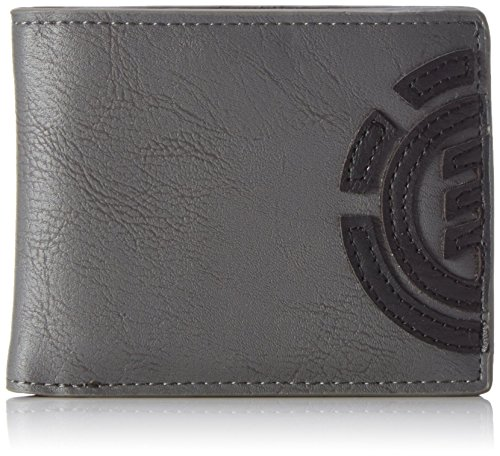 Element Herren Daily Wallet Geldbörse, Grau (Stone Grey), 1x7x9 cm