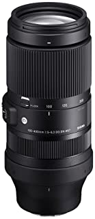 Sigma 100-400mm F5-6.3 DG DN OS For Sony E-Mount