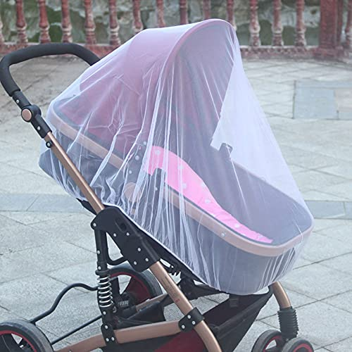 Pram Net Universal Pushchair Seat Buggy Mosquito Repellent Fly Bug Net Protection Mesh Cover Carrycot Bed Stroller Bassinet Basket Insect Protector