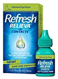 Refresh Relieva for Contacts Lubricant Eye Drops 0.27 Fl. Oz (8ml) Sterile