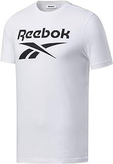 Reebok Vector Logo T Shirt Hommes Vêtements de Sport