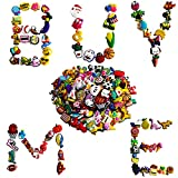 YUESUO 100PCS PVC Different Shoe Charms for Clog Shoe Decoration Charms Children Birthday Gift (Shoe Charms 100pcs)