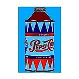 CafePress - Pepsi Bottle Poster - Mini-Poster