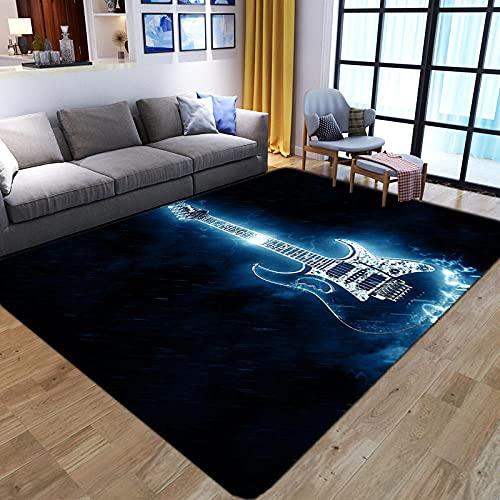 Alfombra moderna para sala de estar, 140 x 200 cm,...