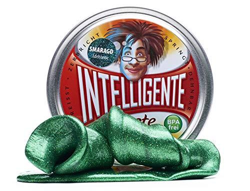 Intelligente Knete Edelsteine (Smaragd) BPA- und glutenfrei