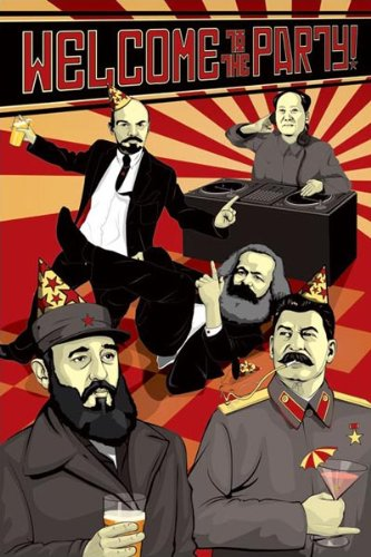 Welcome To The Party (Communist Leaders) Kunstdruck