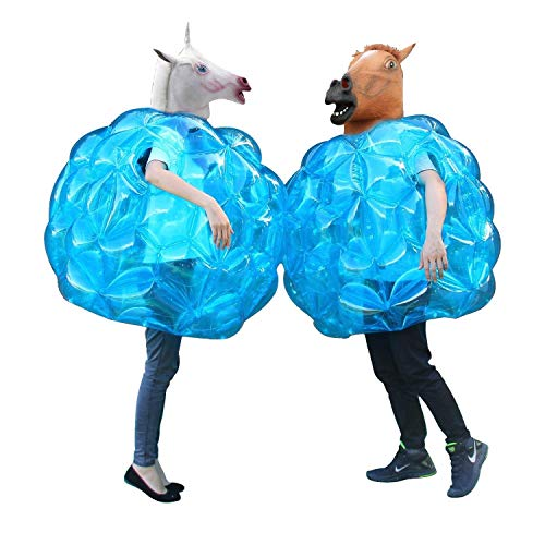 Discover Bargain Theefun  Sumo Bumper Balls, Inflatable Body Bubble Ball Bumper Bopper for Kids and ...