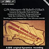 Works for Baroque Flute and Recorders