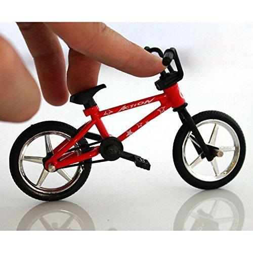 TOOGOO(R) Finger Fahrrad Spielzeug Finger Fahrrad Mini-Spielzeug Kind-Geschenk Sport Fuer Kinder Junge
