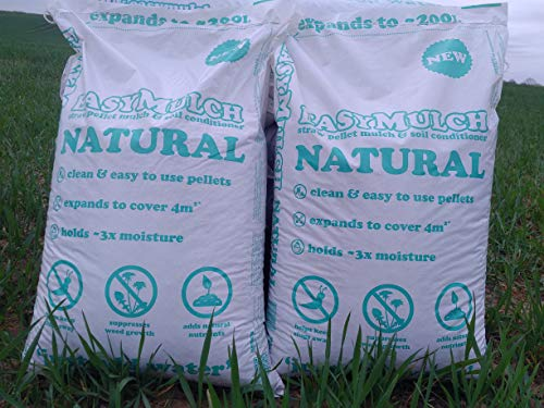easyMulch NATURAL STRAW Pellet Mulch & Soil Conditioner (2x15kg bags) £14.99 per bag (ex N.Ireland, Highlands & Islands)