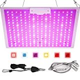 Roleadro LED Grow Light 2x2 ft Full Spectrum Led Grow Lamp Plants Growing Lights for Hydroponic Indoor Seeding Veg and Bloom Greenhouse Growing Light Fixtures