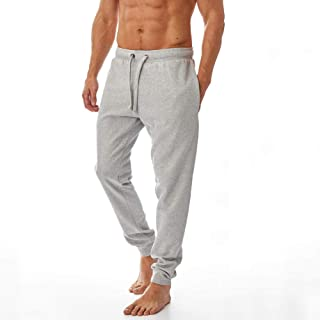 Iron Mountain Mens Reclaimed Yarn Eco Friendly Anti Pil Flexible Comfortable Jog Sweat Pant Trouser, Light Grey, 4X-Large
