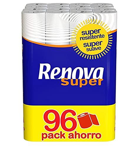 Renova Papier hygiénique Super – 96 rouleaux