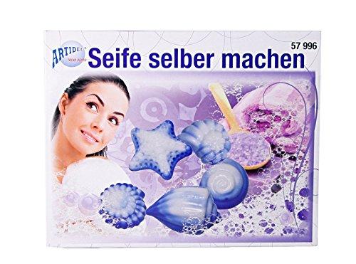 CREARTEC - Seife selber machen Set - perfektes Set für das Erstellen von Seifen mit dem Giess-Verfahren - Made in Germany