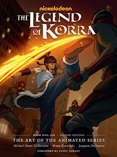 The Legend of Korra: The Art of the Animated Series--Book One: Air (Second Edition) (English Edition)