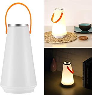 ONEVER Luz de noche inalámbrica de casa LED Lámpara de mesa USB Interruptor táctil recargable Luz de emergencia para acampar al aire libre