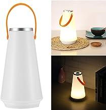 ONEVER Draadloze led-lamp voor thuis, voor op tafel, USB, oplaadbaar, touch-schakelaar, outdoor, nachtlampje, camping, noo...