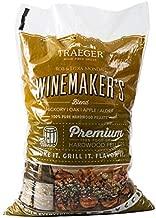 Traeger Pellet Grills PEL334 Winemaker's Blend Wood Pellets, Brown