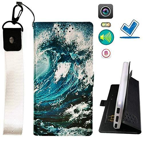 Custodia per Microsoft Nokia Lumia 540 Dual Sim Custodia Flip in Pelle PU + Cover Case in Silicone Fissa Protezione CL ITHYJ