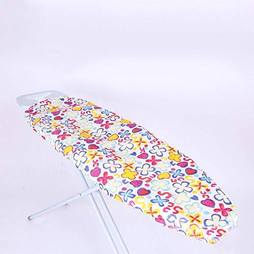 140 * 50 cm tabla de planchar cubierta de prensa protectora de hierro plegable ligero ajustable mesa ajustable ropa de madera superior 55.1 * 19.7